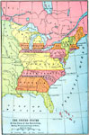 The United States At The Close Of The Revolution Showing Land Claims Of States 1911 A Map Of The United States At The Close Of The American Revolution