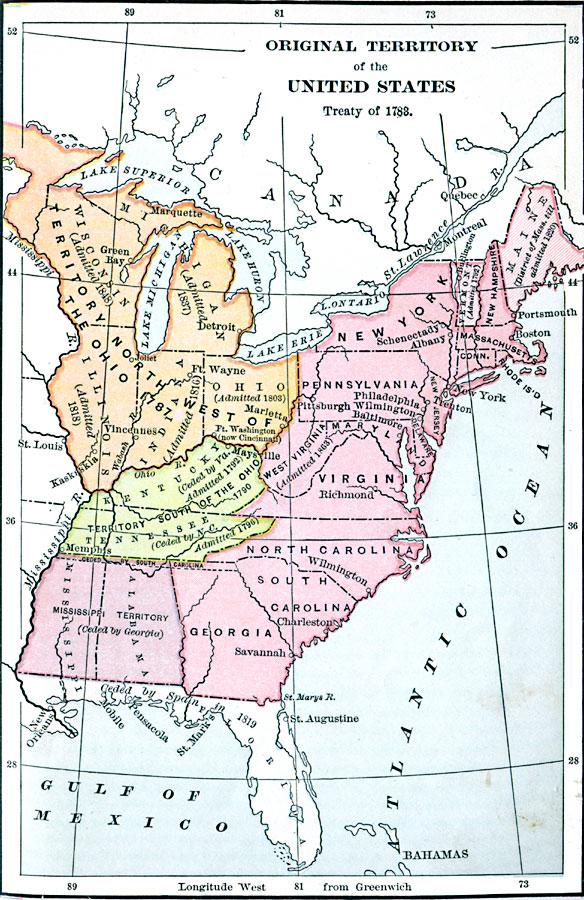Jpg - Us map 1783