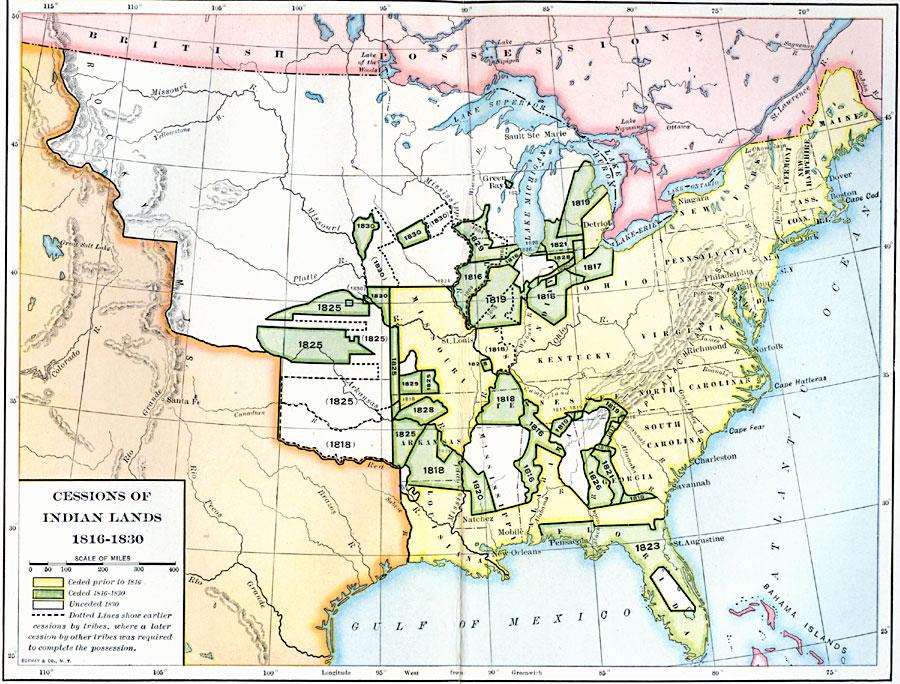 Cession Of Native Lands