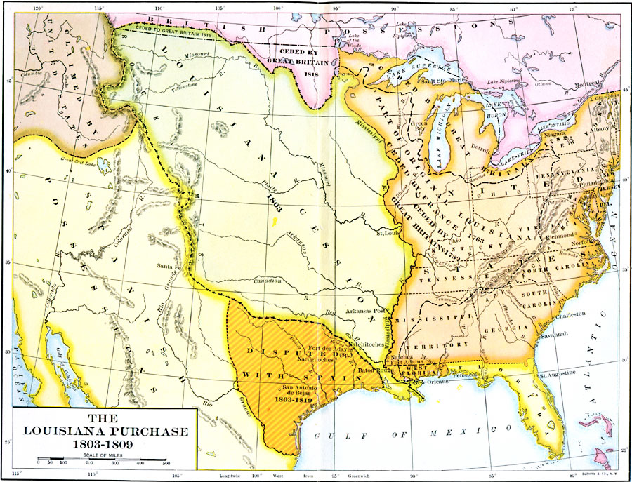 The Louisiana Purchase, 1803–1809
