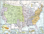 Maps of United States - Growth of Nation