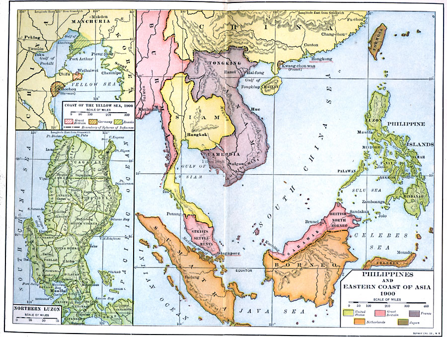 Philippines And East Asia