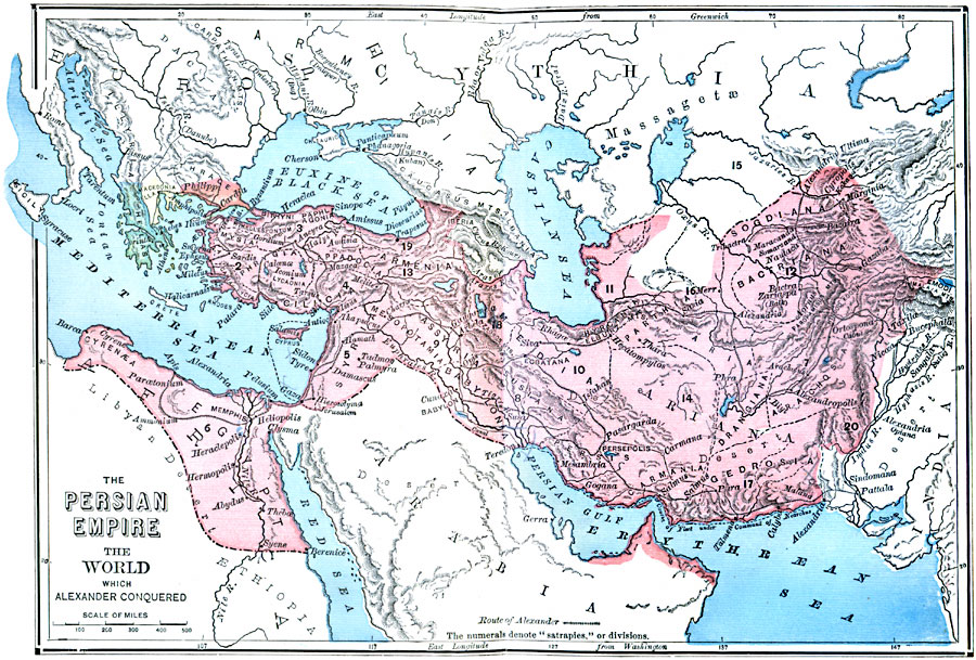 Alexander the Greats conquest of Persia