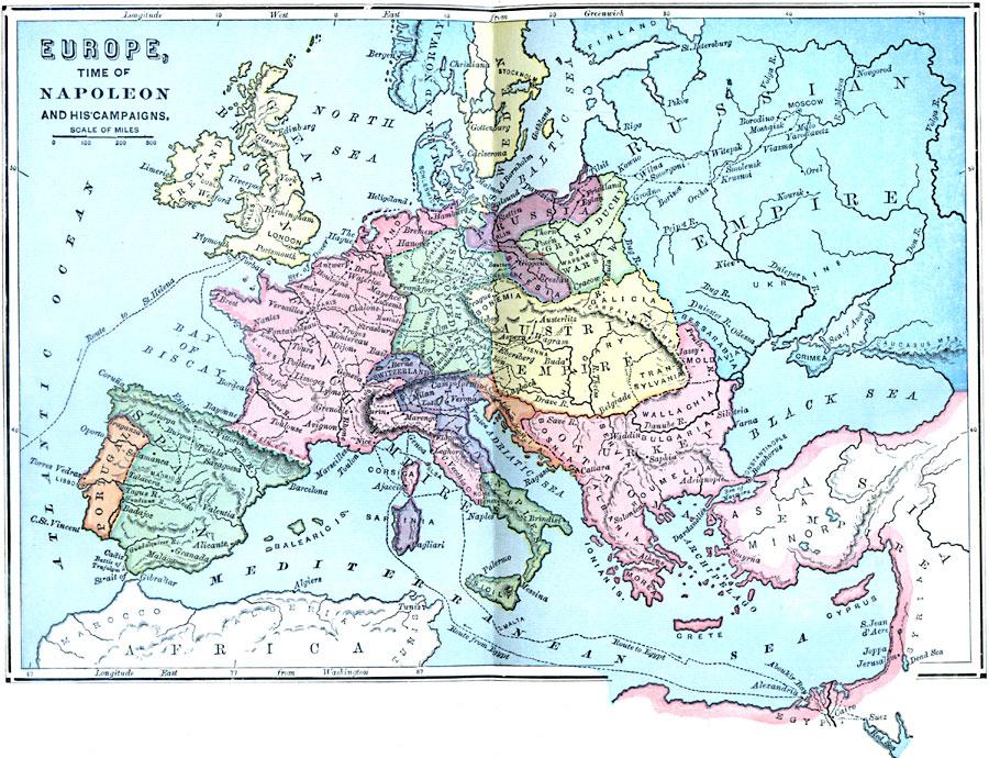 Mapas de Europa. 3166