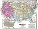 Maps Of United States Complete Maps - Map of the united states with physical features