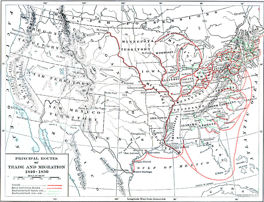 Jpg - Map of the us in 1840