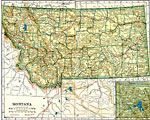 Maps of United States - Montana