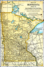 Maps Of United States  Minnesota