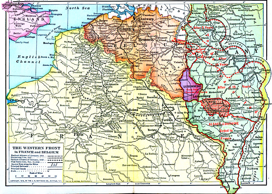 496jpg – Map of France and Belgium