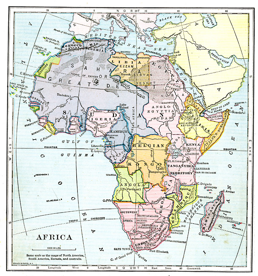 Africa after WWI