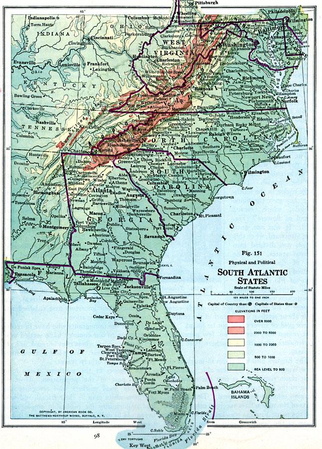 South Atlantic States