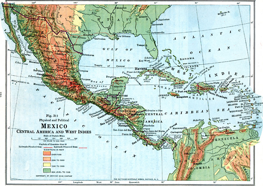 an overview of the country of mexico in the central america About central america central america is a narrrow, southernmost region (c202,200 sq mi/523,698 sq km) of the continent of north america, linked to south america at colombia it separates the caribbean from the pacific historically, geographers considered it to extend from the natural boundary of the isthmus of tehuantepec, s mexico, to that of the isthmus of panama.