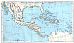 West Indies Map With Capitals