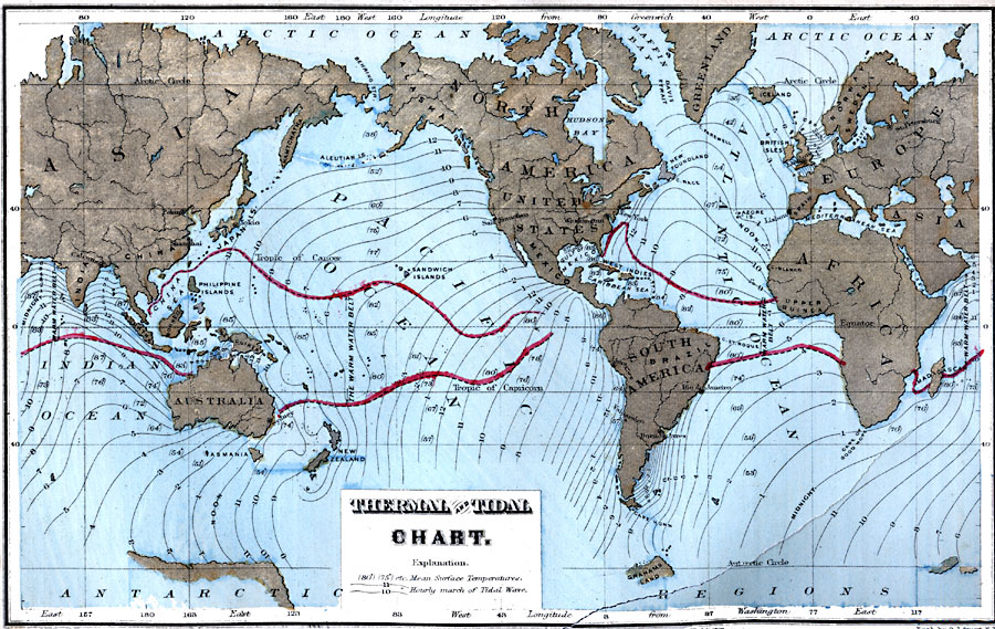 Thermal And Tidal Chart