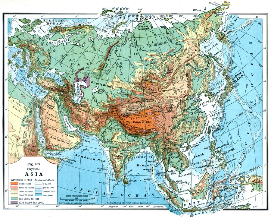 Physical Asia