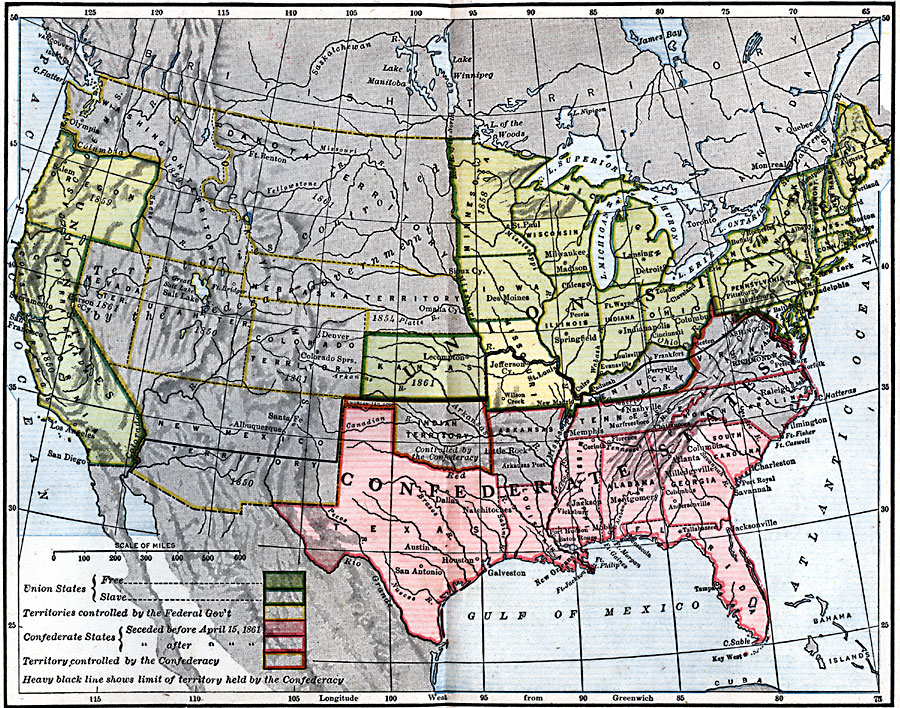 Jpg - Map of us 1861