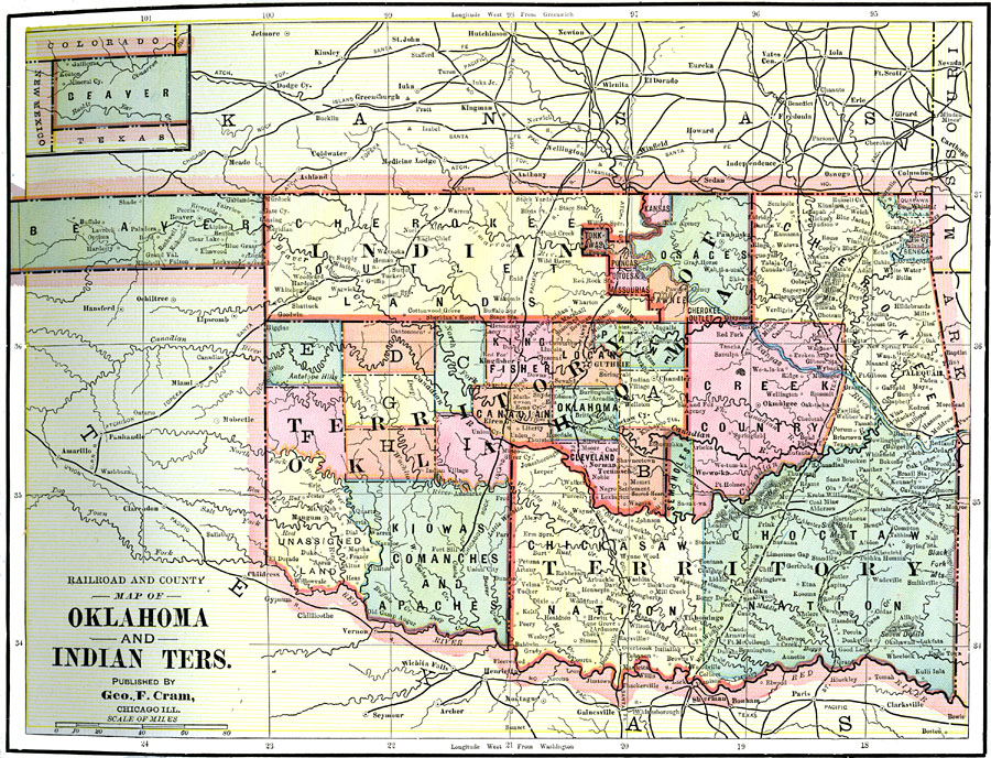 Oklahoma and Indian Territories