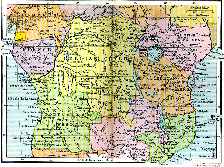 Jpg - Central africa map