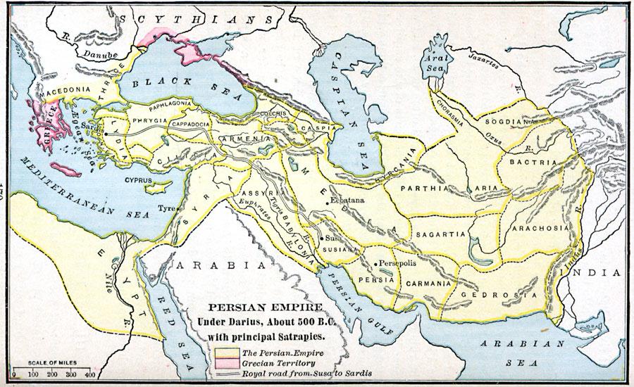 Persian Empire Darius Persian Empire ...