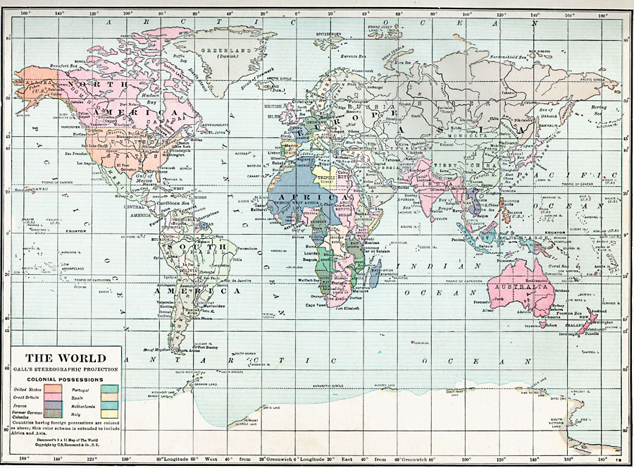 Map Of The World 1920.World Map