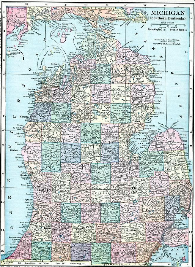 Southern Peninsula Of Michigan