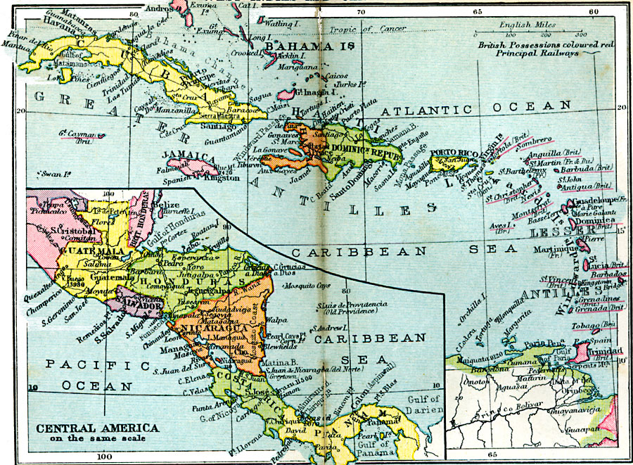 West Indies And Central America