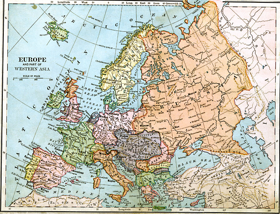 6877jpg – Europe and Asia Map
