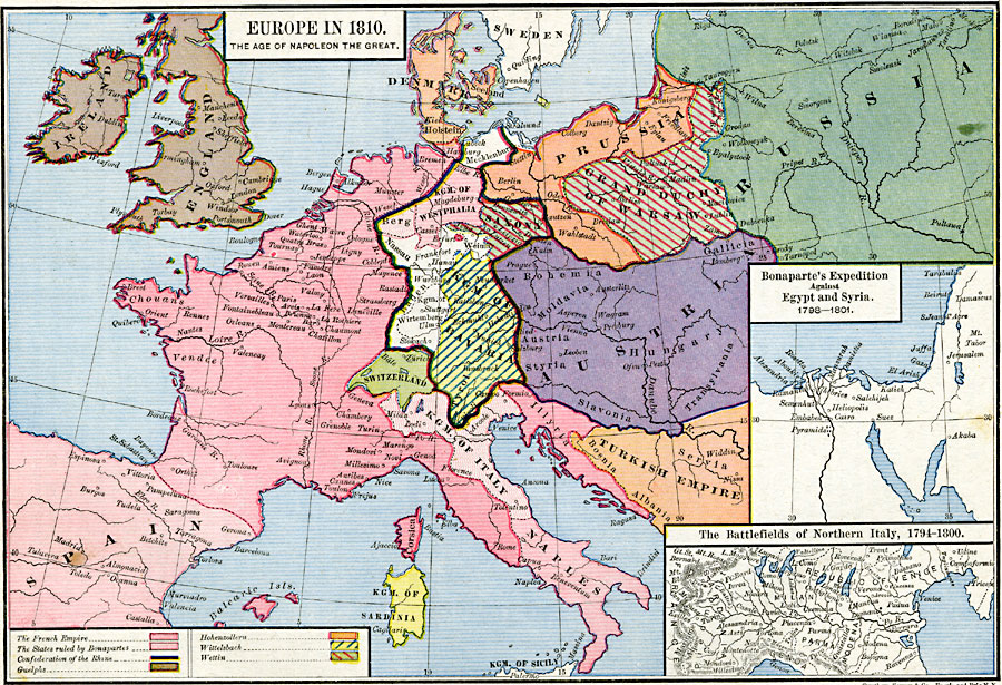 Europe In The Time Of Napoleon
