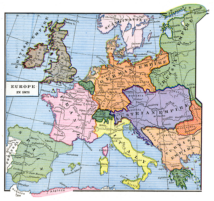 austria and prussia 1815 1850 The german confederation, 1815-66 history of germany in the 1820s, he engineered the formation of the holy alliance of the monarchs of austria, prussia.