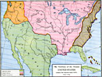 Maps Of United States Early America - Map of us during 1763