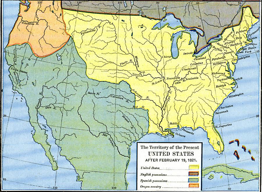 Jpg - Us map 1821