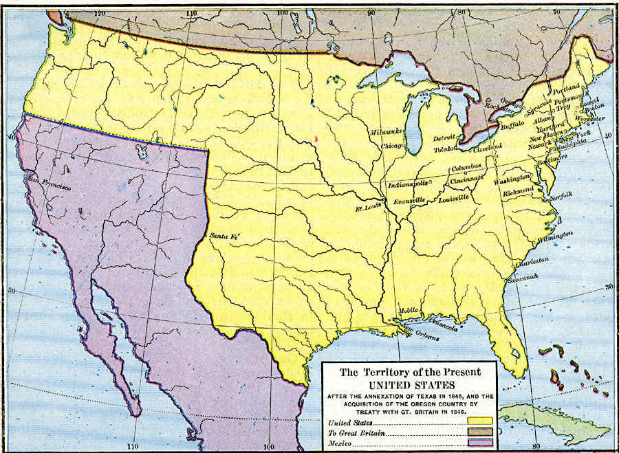 The Territory Of The United States