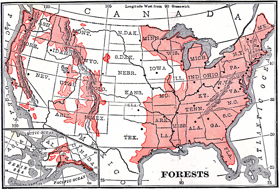 Forest Regions of the United States