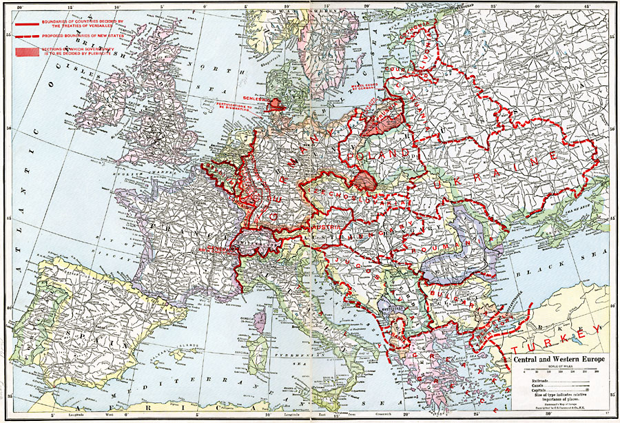Central and Western Europe