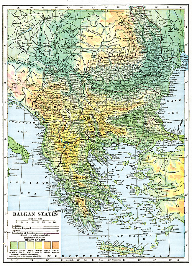 an introduction to the history of the balkan states I introduction austria-hungary  in 1908 austria-hungary took the ottoman possessions it wanted when it annexed the balkan states of bosnia and herzegovina.