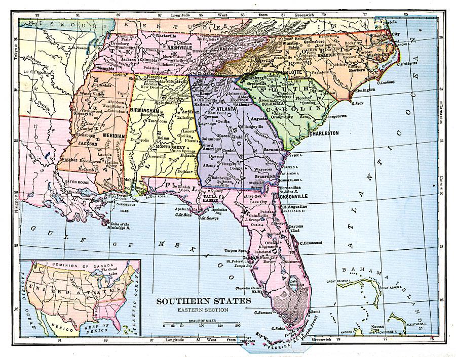 Southeastern States