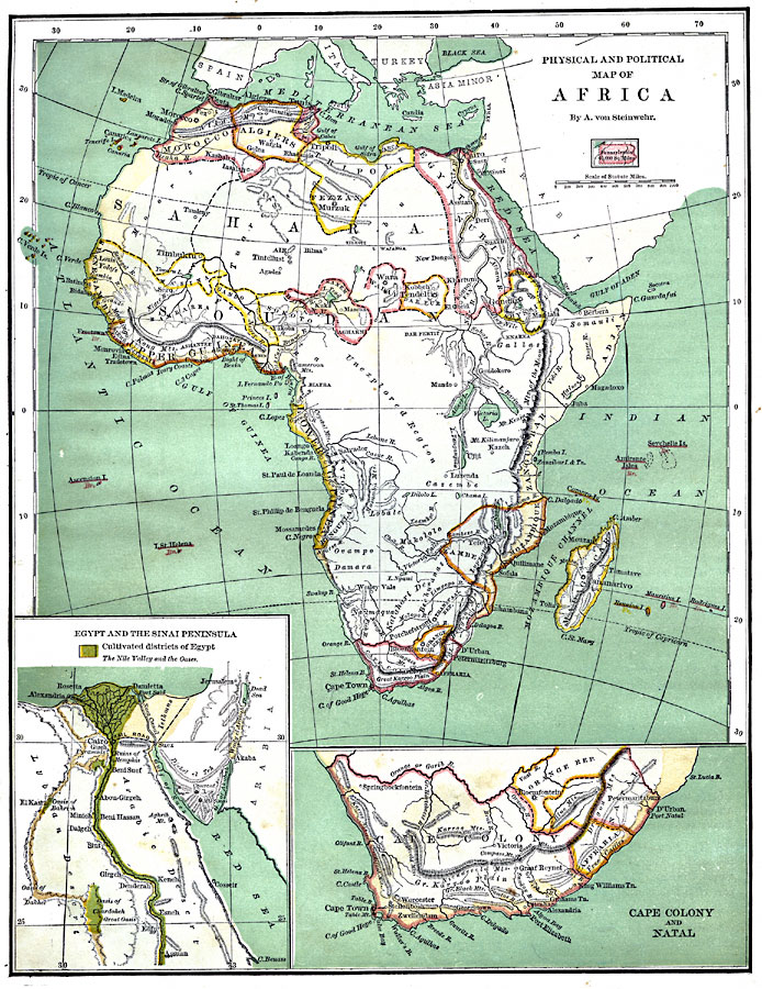 Map Of Africa Before Colonialism.Map Of Colonial Africa Jackenjuul