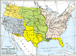 expansion of the united states 17831853 a map from 1912 of the united states showing the territorial acquisitions up to the gadsden purchase in northern