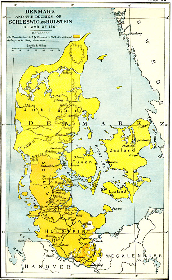 Denmark And The Duchies Of Schleswig And Holstein