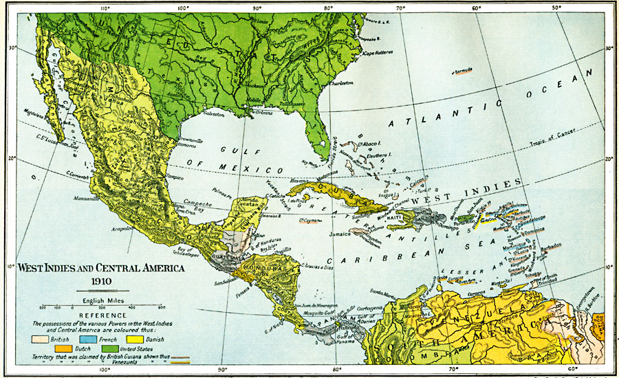 West indies and central america 1910 west indies and central america gumiabroncs Images