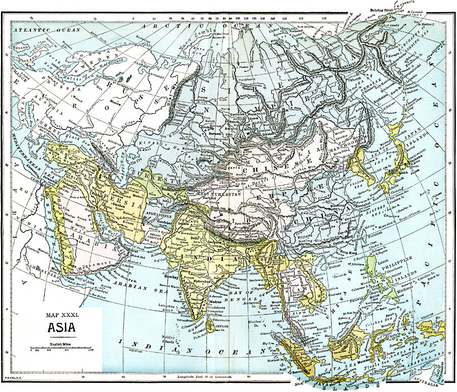 Page Map Site: Asia