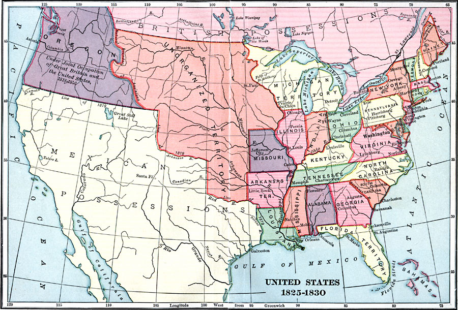 Jpg - Map of the us in 1830