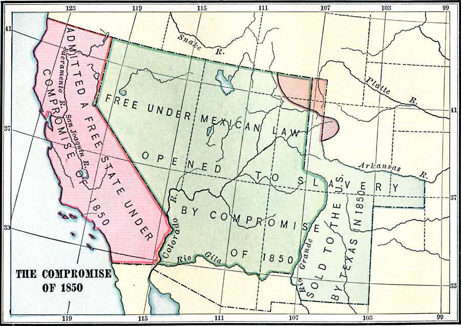 Jpg - Compromise of 1850 map