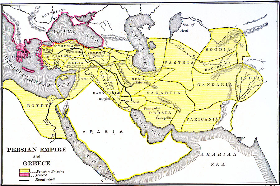 Persian Empire and Greece