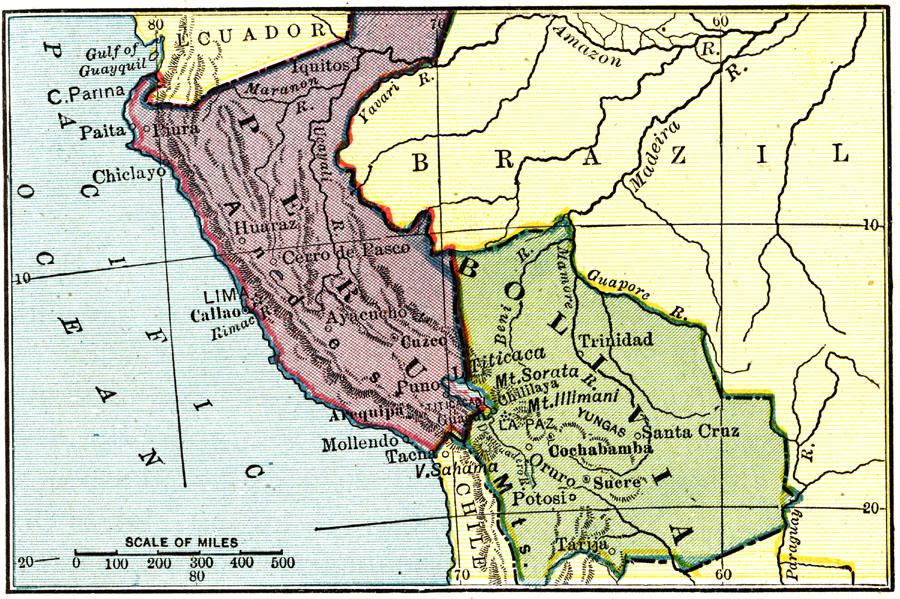 Jpg - Bolivia physical map