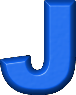 j 20  Presentation Alphabet Set: Blue R...