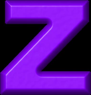 z alphabet images  Presentation Alphabet Set: Purple Refri...