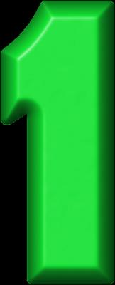 Presentation Alphabets: Green Refrigerator Magnet 1162 x 400 png 23kB