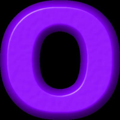 presentation alphabets purple refrigerator magnet o