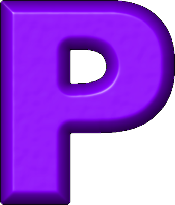 ETC U003e Presentations ETC Home U003e Alphabets U003e Refrigerator Magnets U003e Purple U003e  Letter P  P & L Form